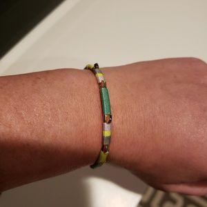 Stella & Dot colorful stud cuff bracelet